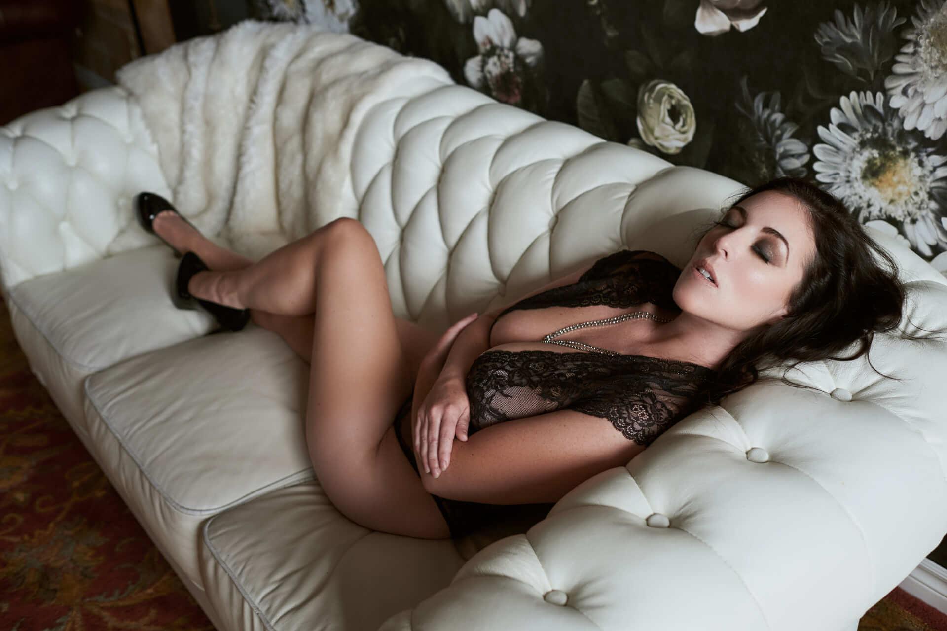 Toronto Boudoir Photographer glamour studio sexy